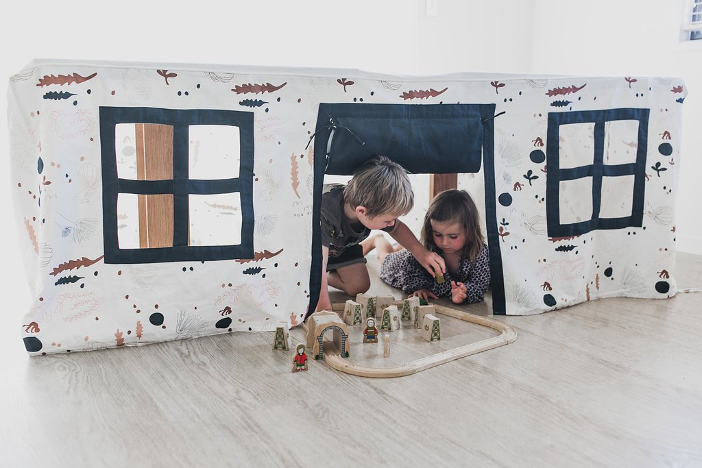 CubbyTime Fabric Playhouse