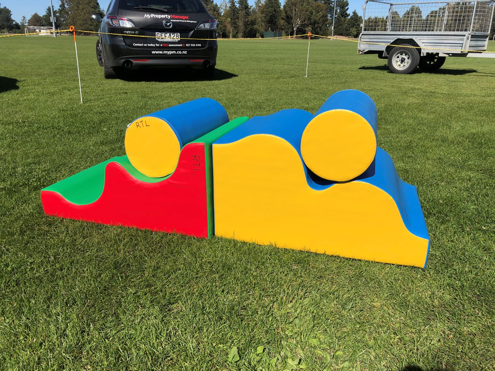 Soft Play Waves and Rolls (4 Parts)