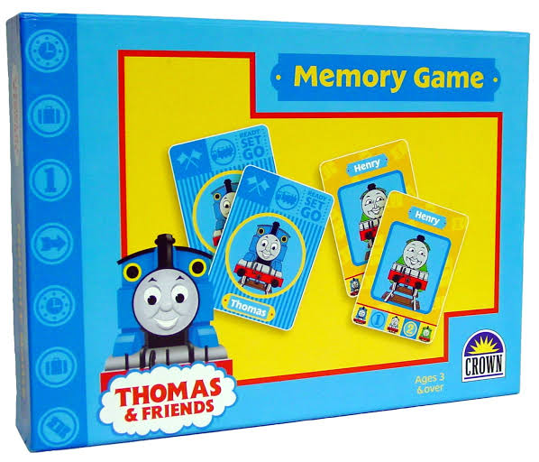 Thomas and Friends Memory Game photo