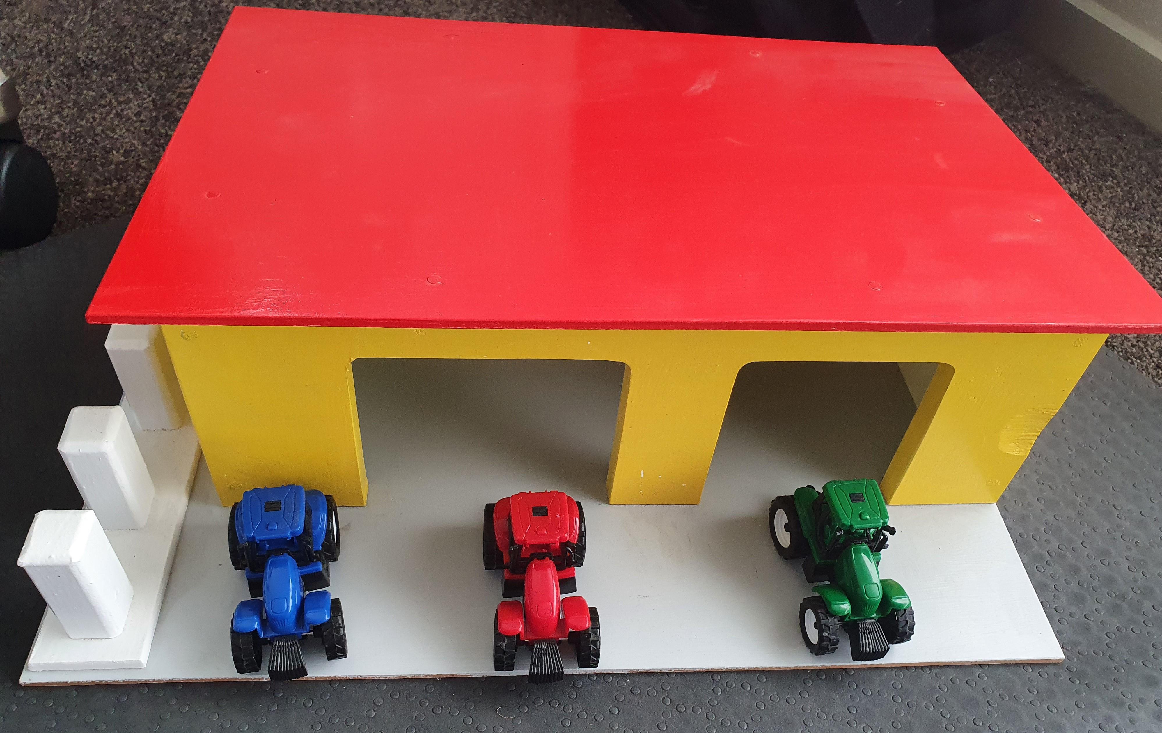 Garage and Tractors