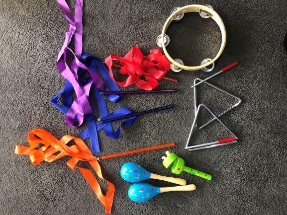 Music Set & Dance Ribbons