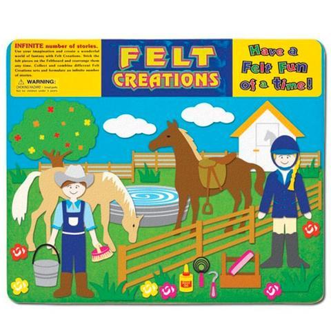 Felt Creations - Horses