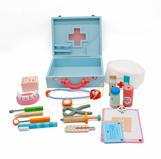 Wooden Doctor Role Play Kit