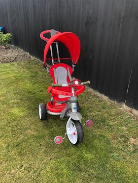 Red 3 in 1 Trike photo