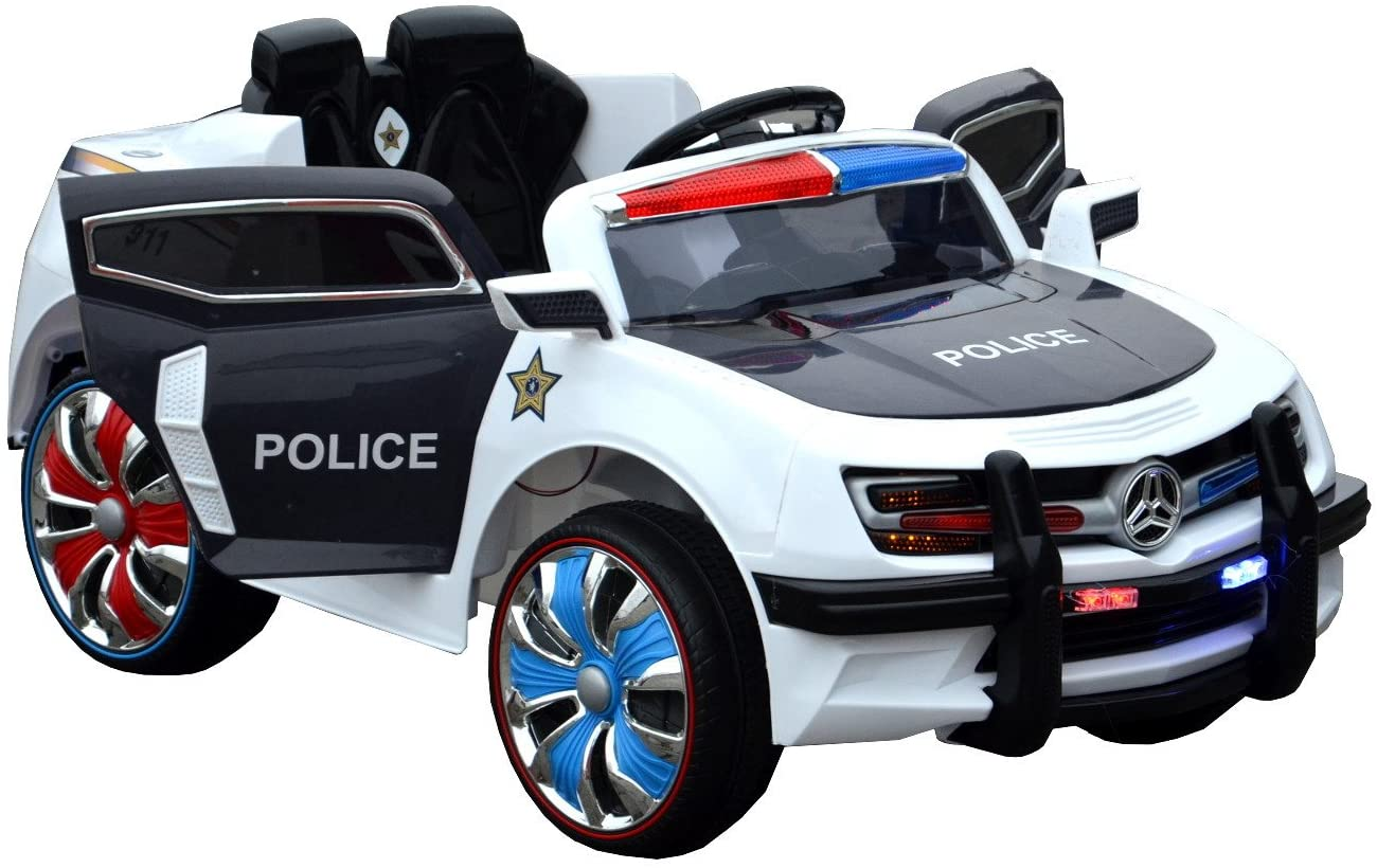 Electric Ride On Police Car